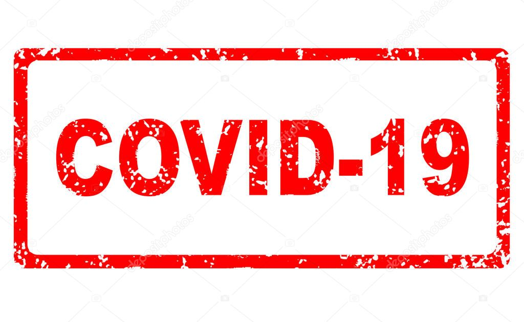 depositphotos 353004746 stock photo covid coronavirus stamp banner isolated